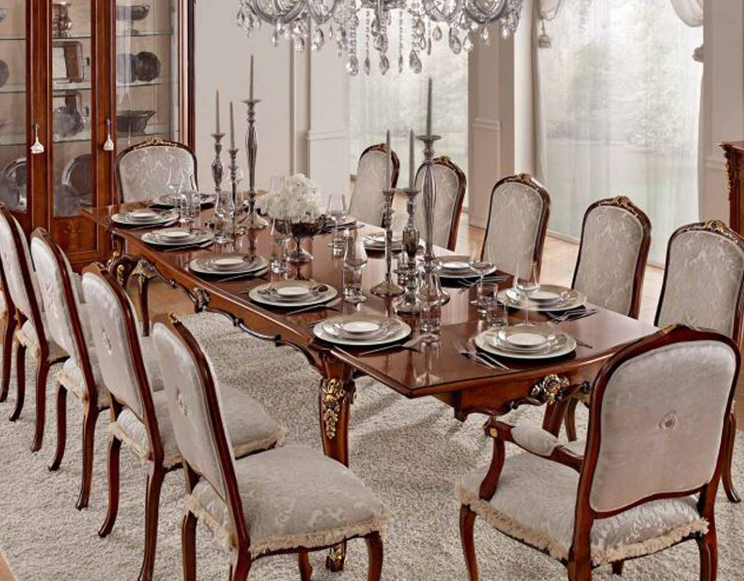 Big dining table Luxury dining room furniture   Home Decor